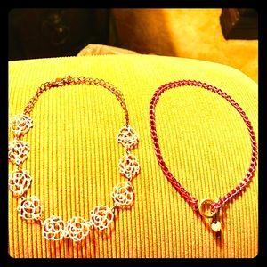 Jewelry - Lot Of Two Ankle Bracelets